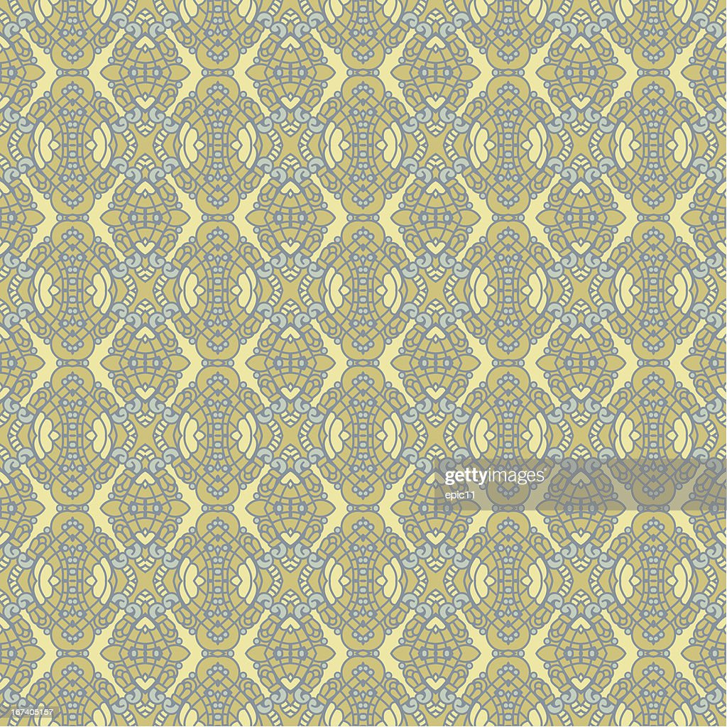Seamless Colorful Retro Pattern Background : Vector Art
