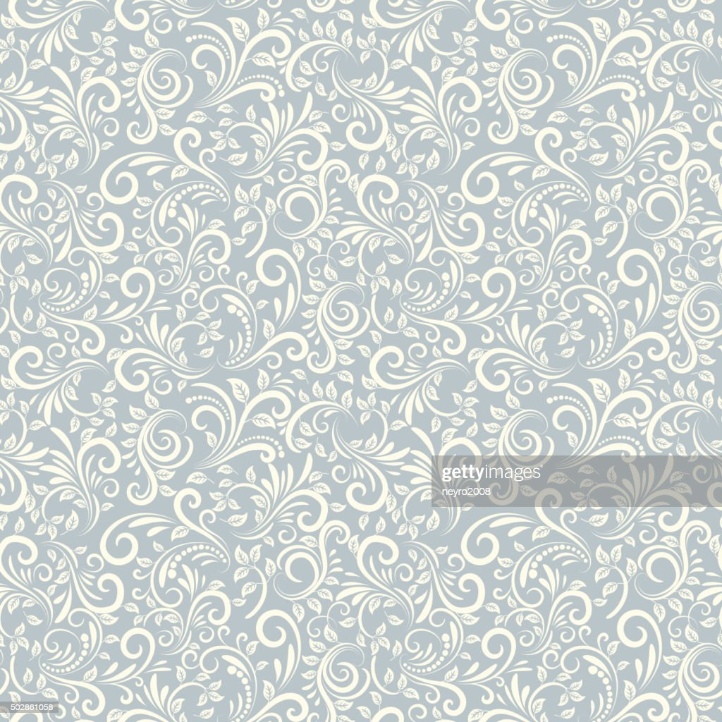 Seamless Damascus background