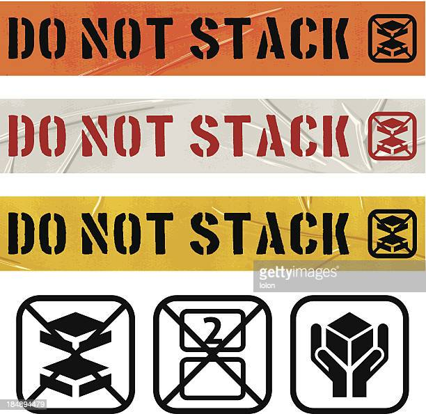 seamless do not stack duct tape banners