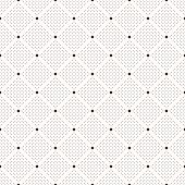 Seamless dots pattern. Polka dot print. Stylish vector texture