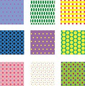 seamless dots patterns