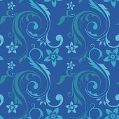 seamless elegant floral pattern for wallpaper