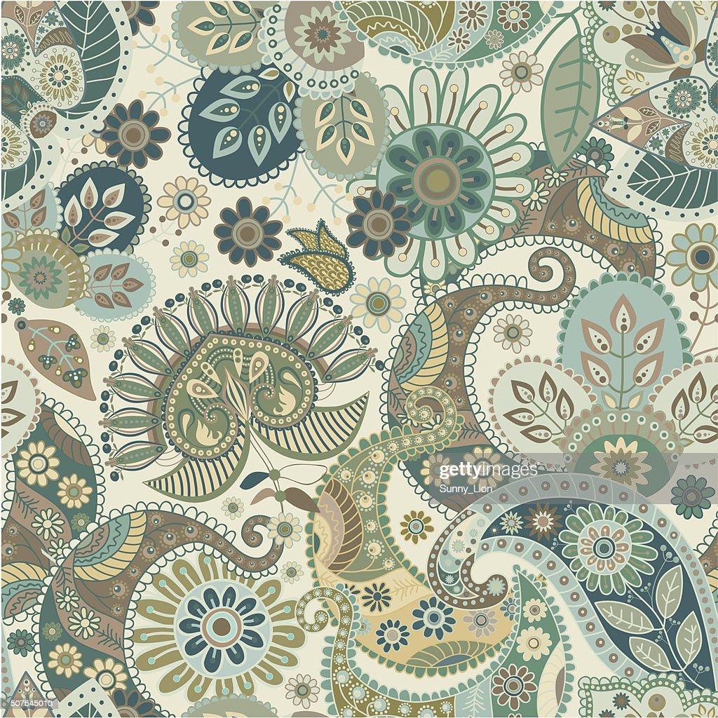 Seamless ethnic pattern