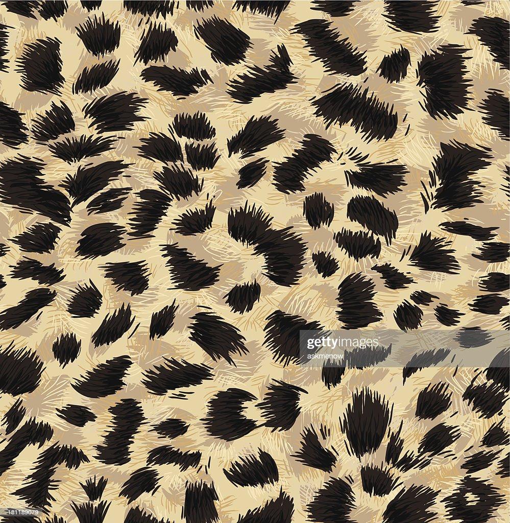 Seamless exotic fur pattern