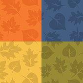 Seamless Fall Leaves