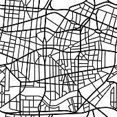 Seamless fictional city map
