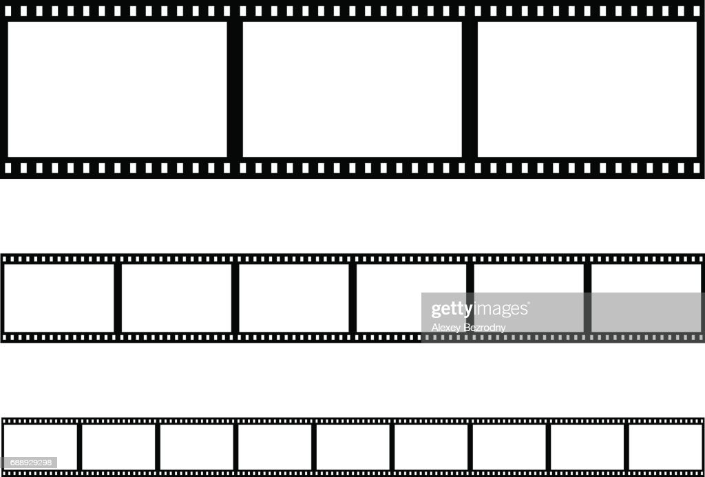 seamless film strip filmstrip vector