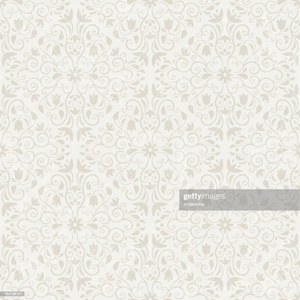 Seamless floral background in a diamond shape