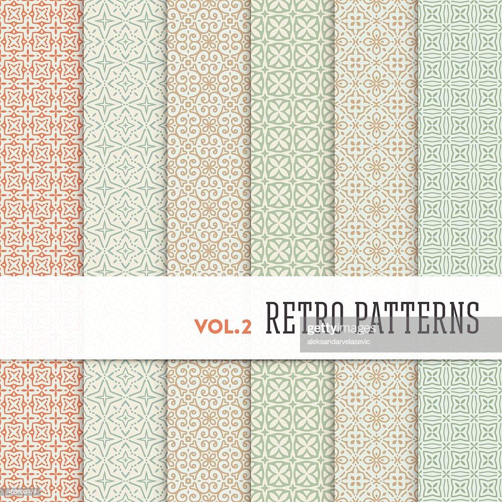 Seamless Foulard Patterns