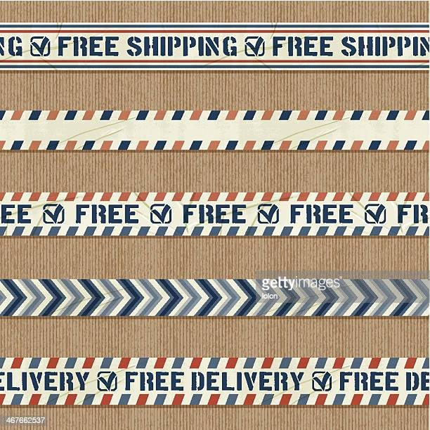 seamless free shipping banners