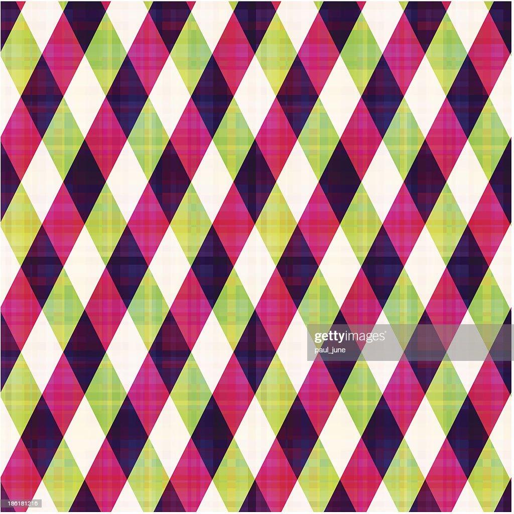 seamless geometric checked pattern