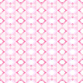 Seamless geometric pattern background of shading pink polygon shapes with vertical stripes. Flat design vector.
