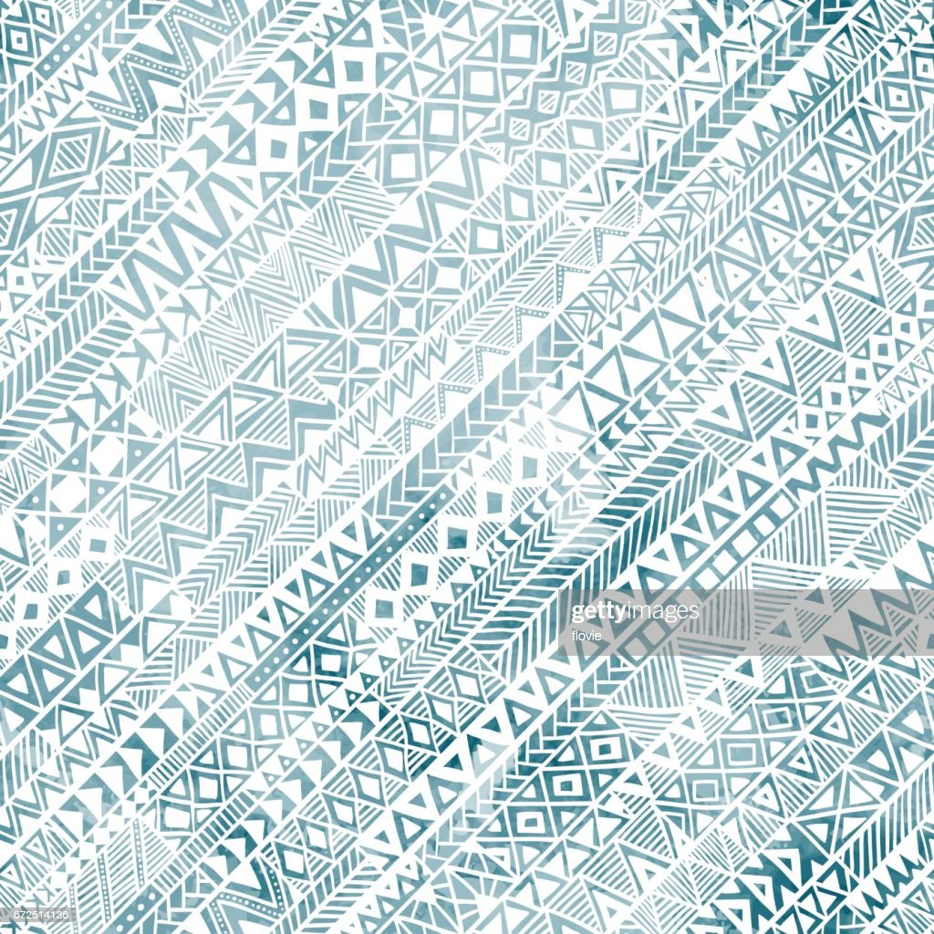 Seamless geometric pattern in grunge style.