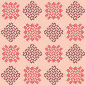 Seamless geometric pattern in shades of pink