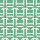 Seamless geometric pattern of multiple lines forming complex lattice
