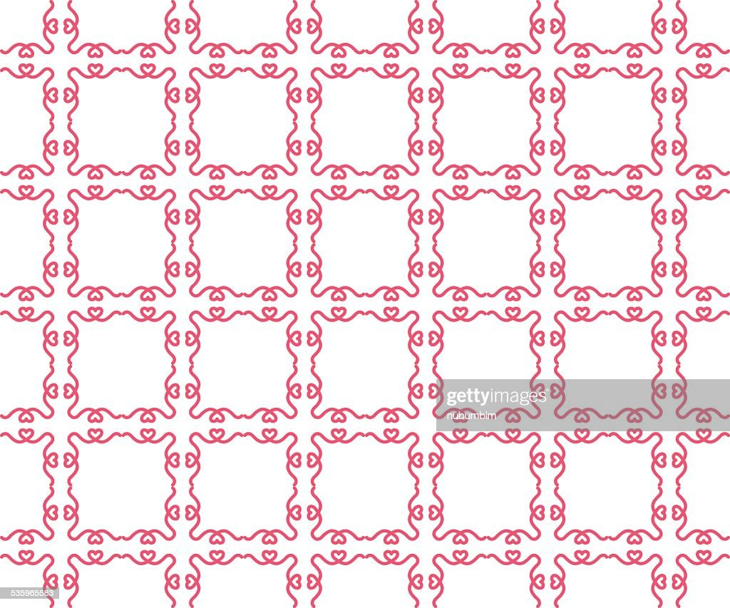 Seamless geometric pattern ,stylish texture : Vector Art