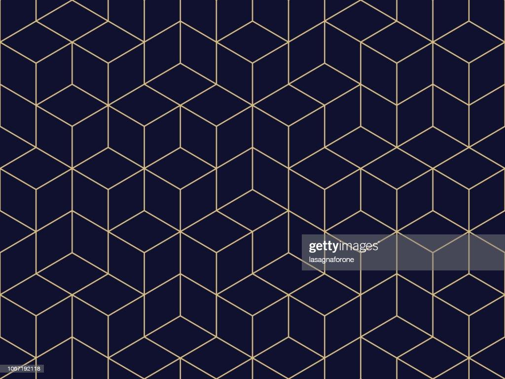 Sin fisuras patrón geométrico : Ilustración de stock