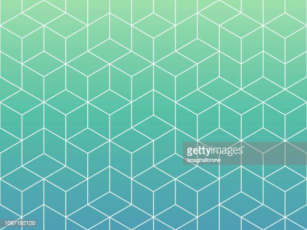 seamless geometric pattern - point of view stock illustrations