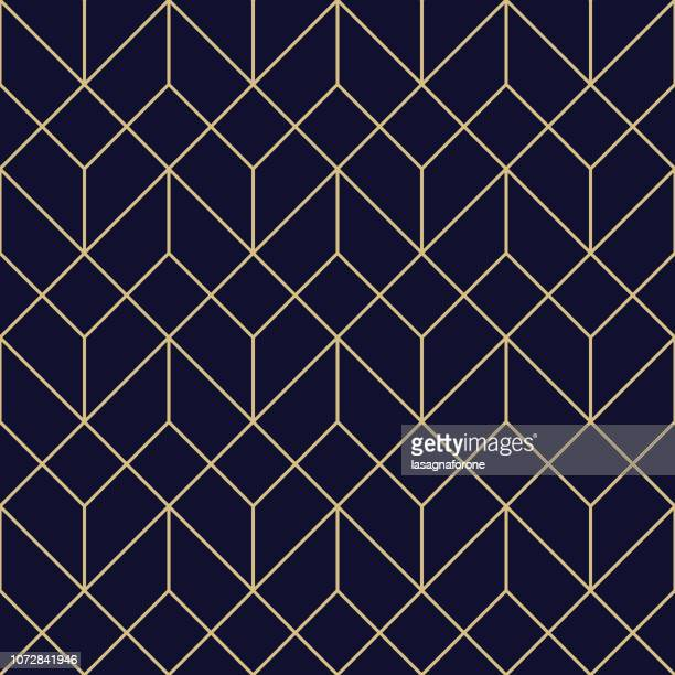seamless geometric pattern - tradition stock illustrations