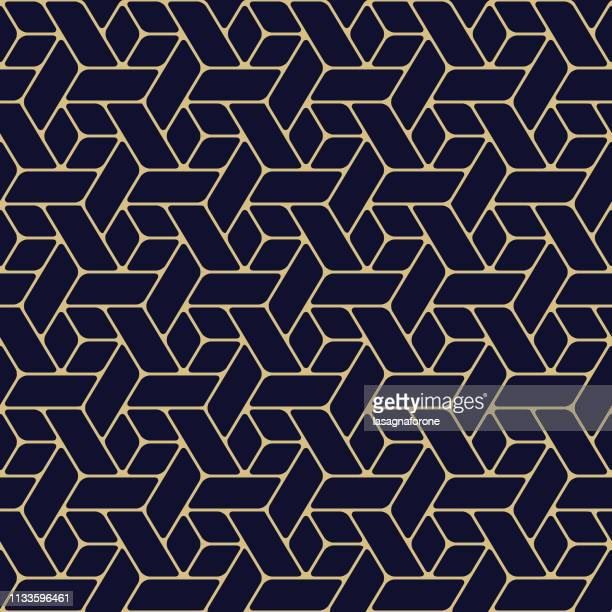 seamless geometric pattern - the slants stock illustrations