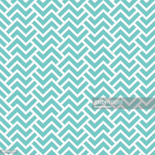 seamless geometric pattern - zigzag stock illustrations, clip art, cartoons, & icons