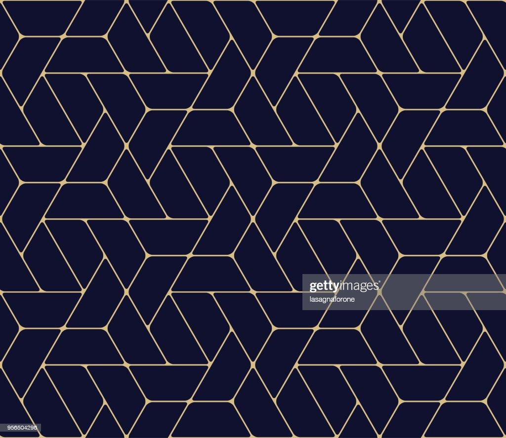 シームレスな幾何学模様  : ストックイラストレーション
