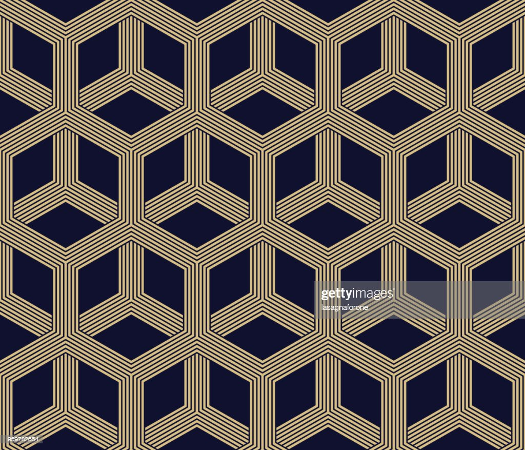 Seamless Geometric Pattern : stock illustration