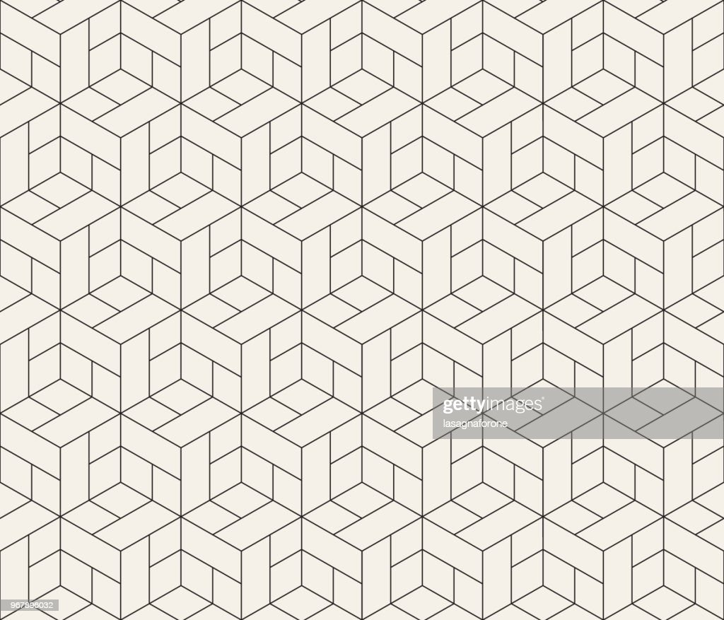 Seamless Geometric Pattern : Stock Illustration
