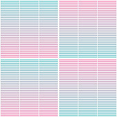 Seamless geometric pattern with horizontal stripes