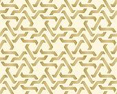 Seamless geometric tiling pattern