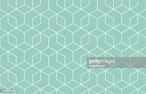 ilustraciones, imágenes clip art, dibujos animados e iconos de stock de patrón de vector geométrico sin costuras - forma geométrica
