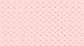 Seamless girlish pattern.Gold crown on pink background.