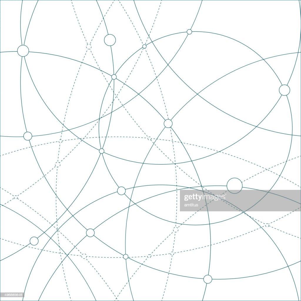 Seamless globes : stock illustration