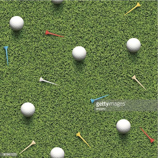 シームレスなゴルフの背景