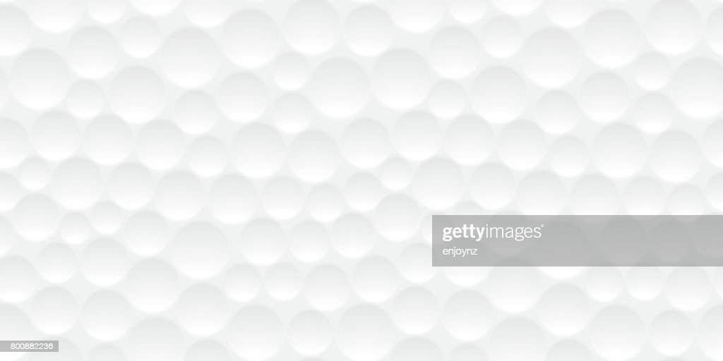 Seamless golf ball pattern