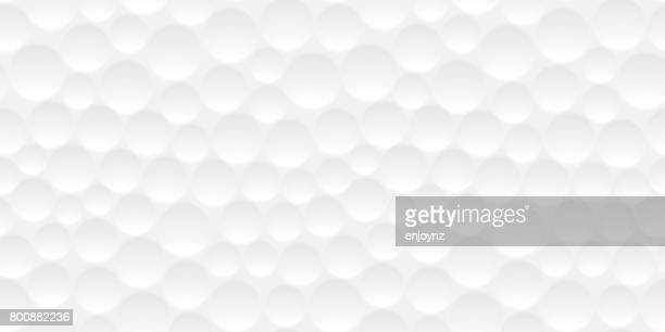 seamless golf ball pattern - white stock illustrations