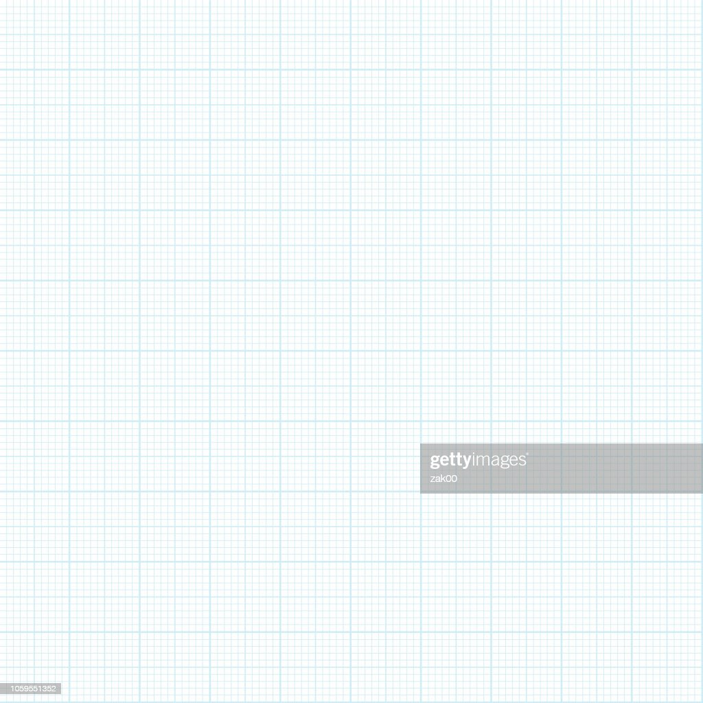 Seamless Graph paper background : stock illustration