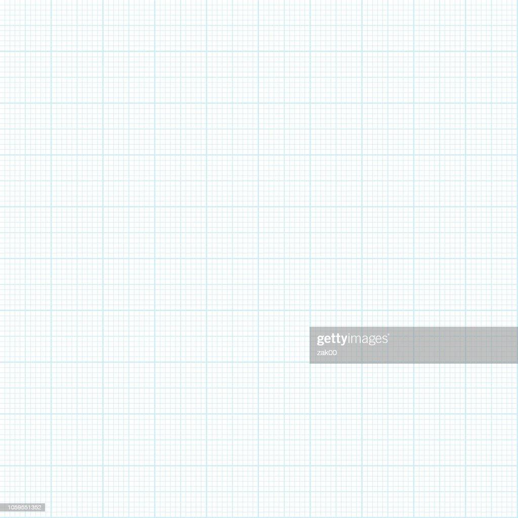 Nahtlose Millimeterpapier Hintergrund : Stock-Illustration