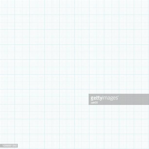 seamless graph paper background - square stock illustrations