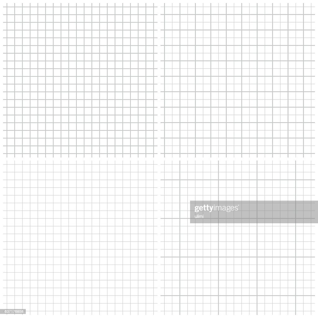 Seamless graph paper : stock illustration
