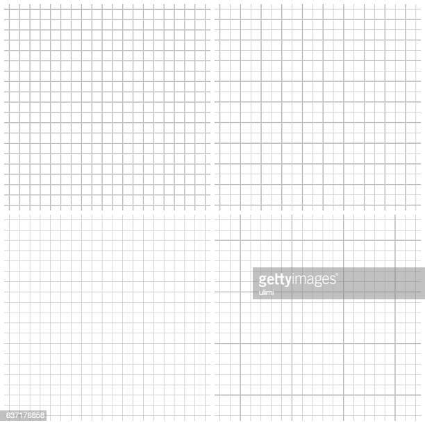seamless graph paper - square composition stock illustrations, clip art, cartoons, & icons