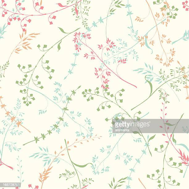 seamless grass background - fragility stock illustrations