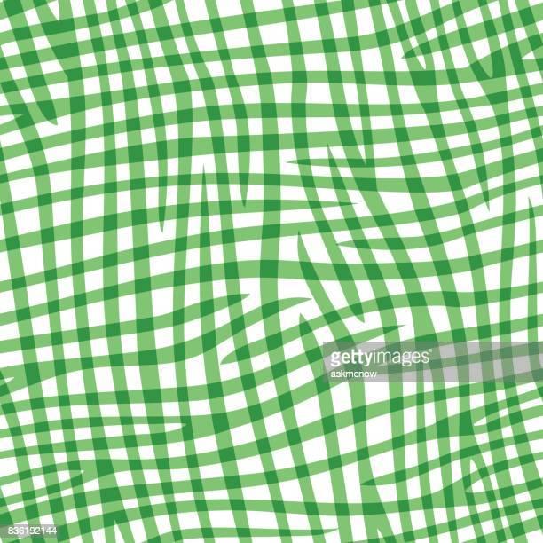 シームレスな緑の模様