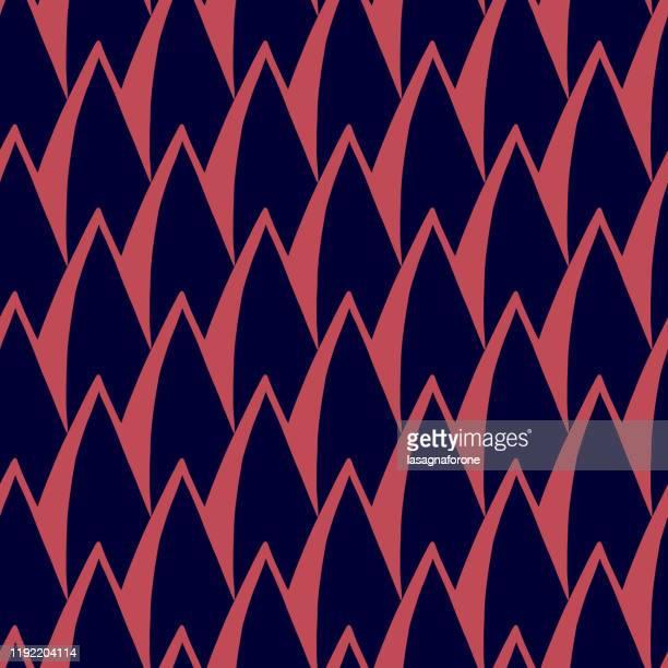 seamless hand drawn vector pattern - natural pattern stock illustrations