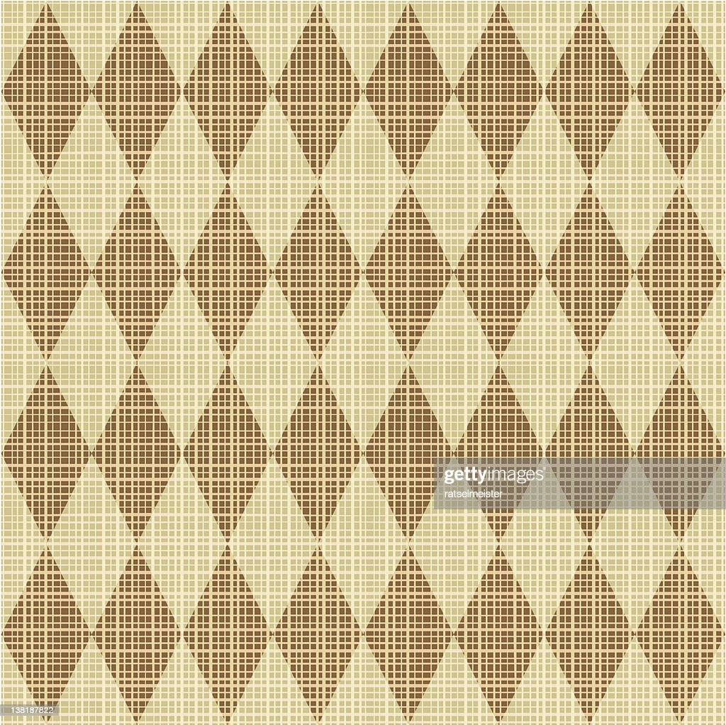 Seamless harlequin pattern canvas background