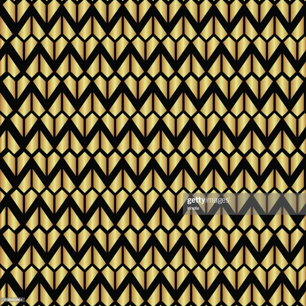 Seamless holiday geometric pattern vector