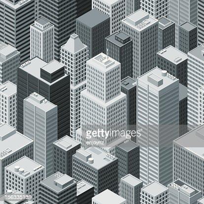 Seamless isometric city