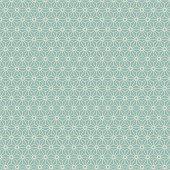 Seamless Japanese style geometry flower pattern.