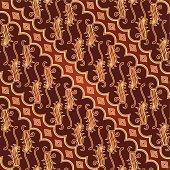Seamless Javanese Batik Pattern