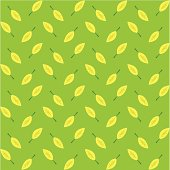 Seamless Leaf Background ( Vector )